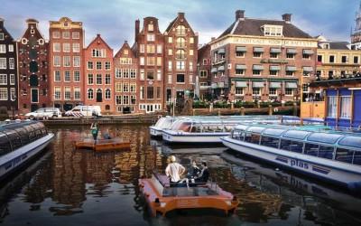 Agora também existem barcos que não dependem de condutores humanos