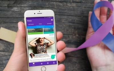Após avó ter diagnóstico de câncer, jovem cria app para pessoas com a doença
