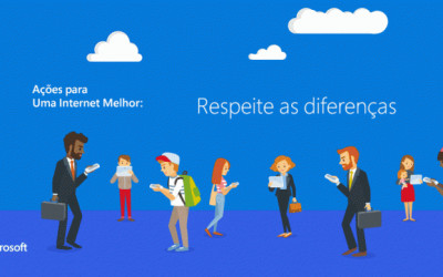 """Microsoft lança o Índice de Cidadania Digital e inicia campanha """"Por Uma Internet Melhor"""""""