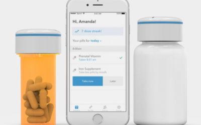 Frasco com Bluetooth ajuda a não esquecer de tomar remédios