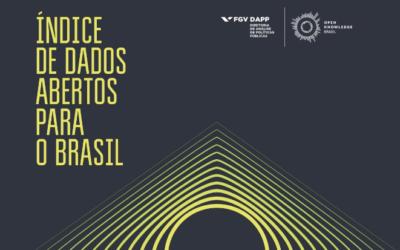 Brasil está em 8ª lugar no ranking mundial de Dados Abertos