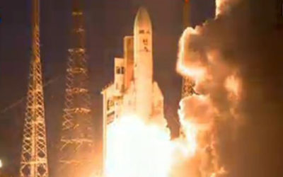 Lançado ao espaço satélite brasileiro que será usado para comunicações e defesa