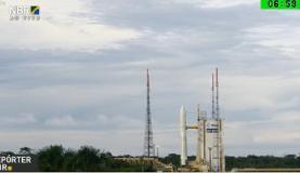 Satélite brasileiro pesa 5,8 toneladas e tem 5 metros de alturaReprodução/TV NBr