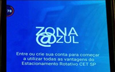 Zona Azul digital alavanca arrecadação da Prefeitura com estacionamentos na rua