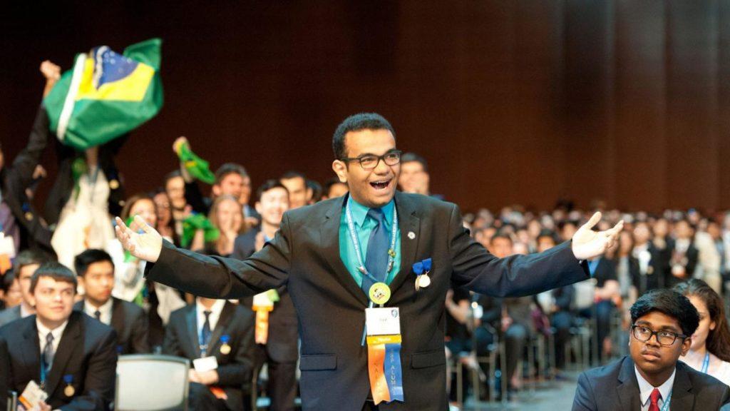 Luiz Fernando da Silva Borges - Vencedor da Intel International Science and Engineering Fair (Intel ISEF) com o projeto Hermes Braindeck