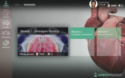 Realidade virtual ajuda a simular rotinas médicas