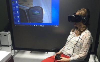 UFRJ inicia serviço que trata medo de avião com realidade virtual