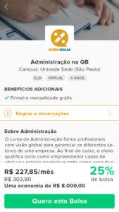 App Enem Quero Bolsa