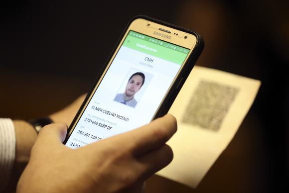 Carteira de motorista será o documento nacional digital