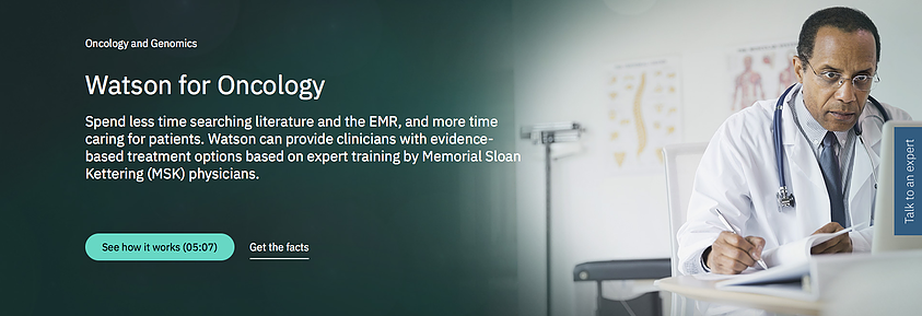 Plataforma cognitiva da IBM, o Watson