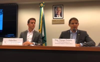 Movimento Brasil, País Digital apoia seminário sobre revolução digital realizado na Câmara dos Deputados