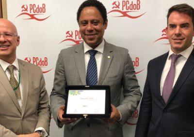 Francisco Camargo, Orlando Silva e Fábio Rua