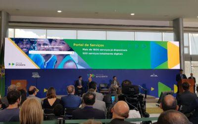 """Lançamento do programa """"Governo Digital: Rumo a um Brasil Eficiente"""""""