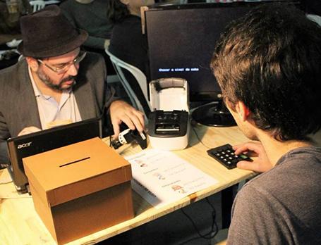 Teste de urna eletrônica de terceira geração