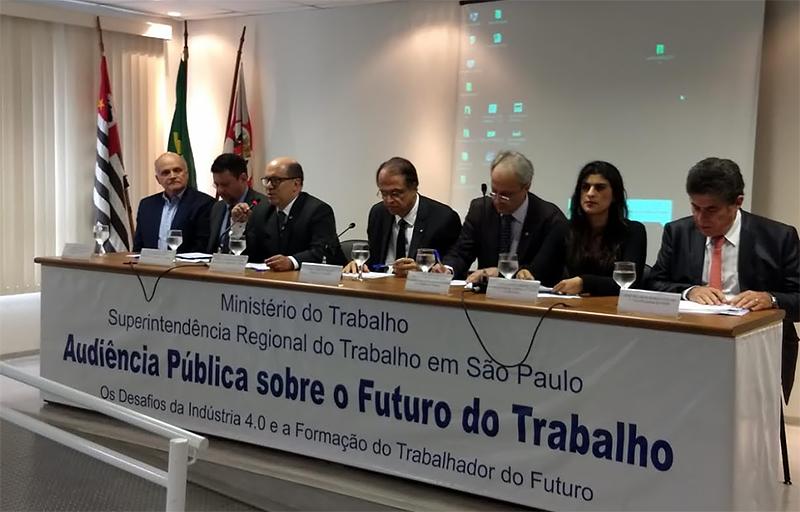 Audiência pública regional São Paulo - Ministério do Trabalho