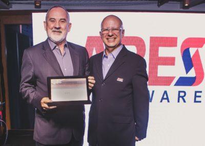 Henrique Faulhaber, representante do Setor de TI no Comitê Gestor da Internet Brasil, e Francisco Camargo, presidente da ABES