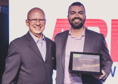 Francisco Camargo, presidente da ABES, e Otávio Viegas Caixeta, diretor do Departamento de Ecossistemas Digitais do MCTIC