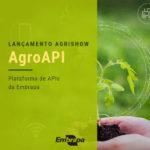 Embrapa lança na Agrishow plataforma voltada ao mercado de tecnologias em agricultura digital