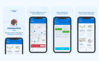 Ministério da Saúde lança aplicativo que avalia se você pode estar infectado com o Covid-19