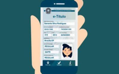 Justiça Eleitoral lança versão atualizada do e-Título com diversas novidades ao eleitor